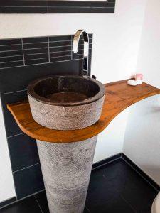 Waschbecken-Säule